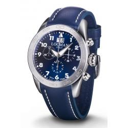 Buy Men's Locman Watch Isola d'Elba Quartz Chronograph 0460A02-00BLWHPB
