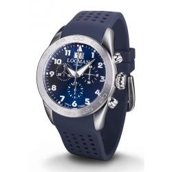 Buy Men's Locman Watch Isola d'Elba Quartz Chronograph 0460A02-00BLWHSB