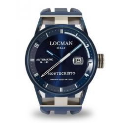 Buy Men's Locman Watch Montecristo Automatic 0511BLBLFWH0SIB