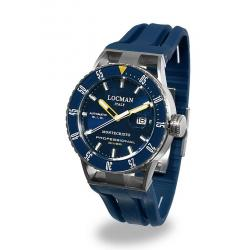 Buy Men's Locman Watch Montecristo Professional Diver Automatic 051300BYBLNKSIB