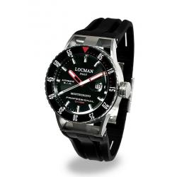 Buy Men's Locman Watch Montecristo Professional Diver Automatic 051300KRBKNKSIK