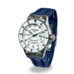 Buy Men's Locman Watch Montecristo Professional Diver Automatic 051300WBWHNKSIB