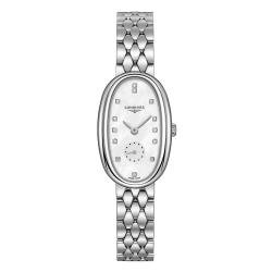 Women's Longines Watch Symphonette L23064876 Diamonds Mother of Pearl