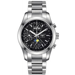 Men's Longines Watch Conquest Classic Chronograph Moonphase Automatic L27984526