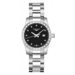 Buy Women's Longines Watch Conquest L33000576 Diamonds Quartz