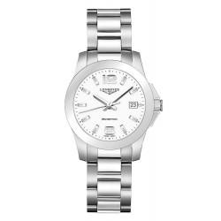 Buy Women's Longines Watch Conquest L33774166 Quartz
