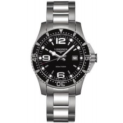 Men's Longines Watch Hydroconquest L36404566 Quartz