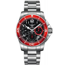 Men's Longines Watch Hydroconquest L36964596 Automatic Chronograph