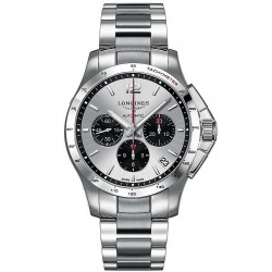 Men's Longines Watch Conquest L36974066 Automatic Chronograph