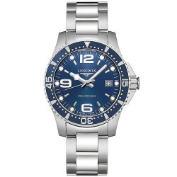 Men's Longines Watch Hydroconquest L37404966 Quartz