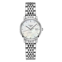 Buy Women's Longines Watch Elegant Collection L43104876 Diamonds Automatic