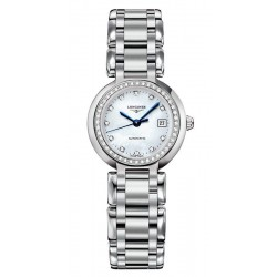 Buy Women's Longines Watch Primaluna L81110876 Diamonds Mother of Pearl Automatic
