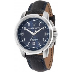 Buy Men's Maserati Watch Successo R8851121003 Quartz