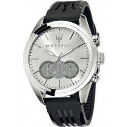 Buy Men's Maserati Watch Traguardo R8871612012 Quartz Chronograph