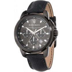 Buy Men's Maserati Watch Successo R8871621002 Quartz Chronograph