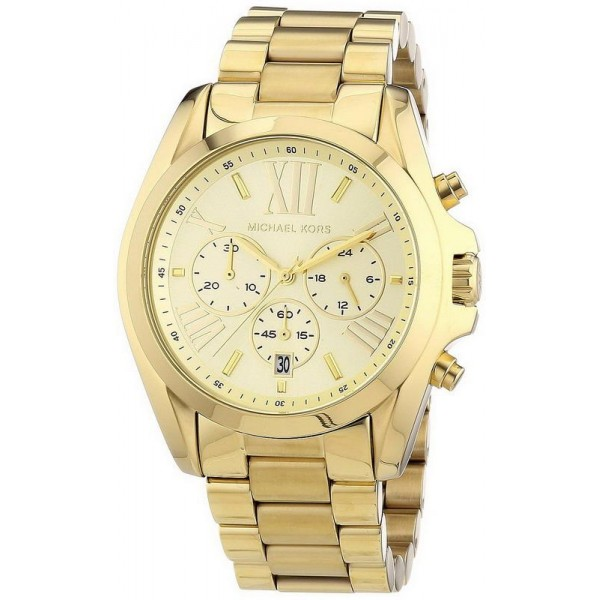 Buy Unisex Michael Kors Watch Bradshaw MK5605 Chronograph