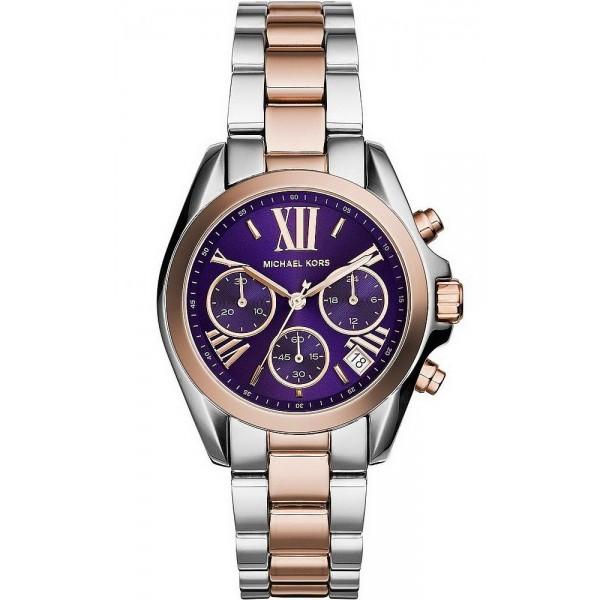 Buy Women's Michael Kors Watch Mini Bradshaw MK6074 Chronograph