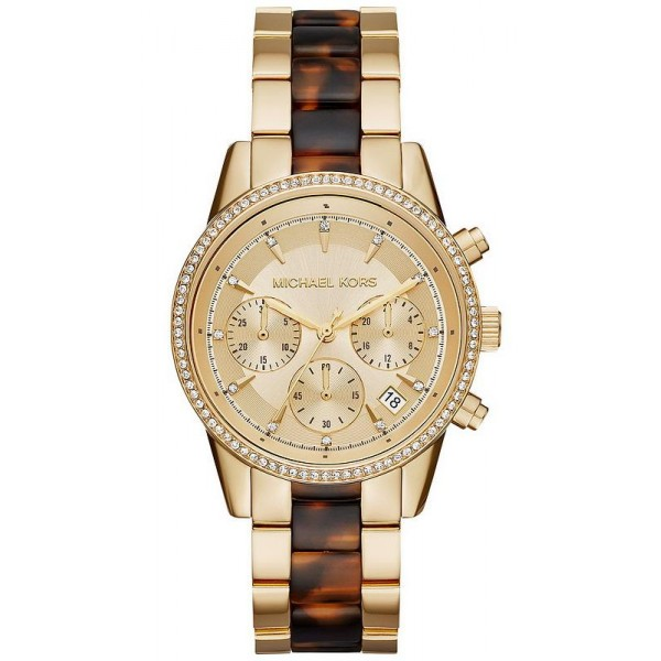 Buy Women's Michael Kors Watch Ritz MK6322 Chronograph