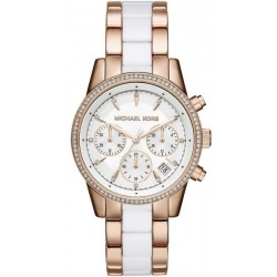 Women's Michael Kors Watch Ritz MK6324 Chronograph