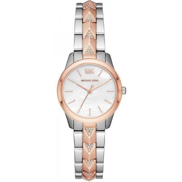 Buy Women's Michael Kors Watch Runway Mercer MK6717 Mother of Pearl