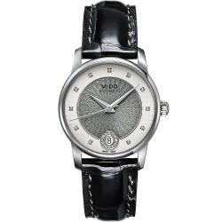 Women's Mido Watch Baroncelli II M0072071603601 Diamonds Automatic