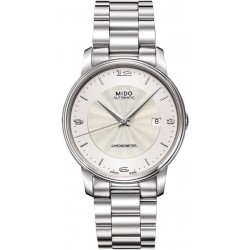 Men's Mido Watch Baroncelli III COSC Chronometer Automatic M0104081103700
