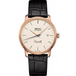 Buy Men's Mido Watch Baroncelli III Heritage M0274073626000 Automatic