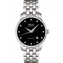Men's Mido Watch Baroncelli II M86004681 Diamonds Automatic