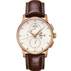 Men's Mido Watch Baroncelli II M860731182 Automatic Chronograph