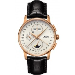 Men's Mido Watch Baroncelli II Chronograph Moonphase Automatic M86073M142