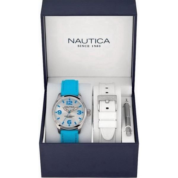Buy Unisex Nautica Watch BFD 102 MID Box Set A11628M