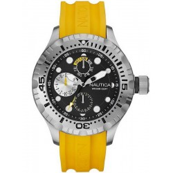 Buy Men's Nautica Watch BFD 100 A15107G Multifunction