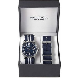 Men's Nautica Watch NCC 01 Date Box Set NAI11509G