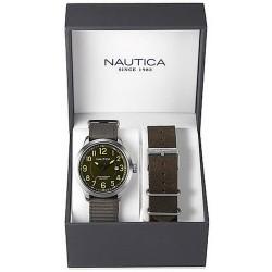 Men's Nautica Watch NCC 01 Date Box Set NAI12525G