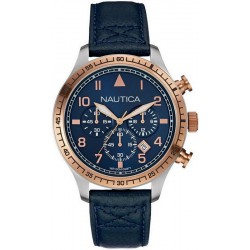 Buy Men's Nautica Watch BFD 105 NAI17500G Chronograph