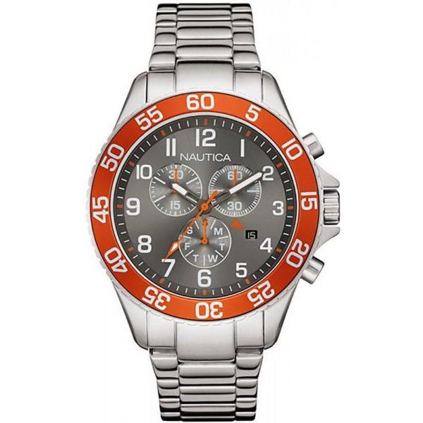 Buy Men's Nautica Watch NST 19 NAI17511G Chronograph
