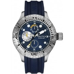 Men's Nautica Watch BFD 100 Box Set NAI17512G Multifunction