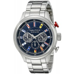 Men's Nautica Watch NCT Flag NAI17516G Chronograph