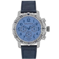 Men's Nautica Watch NMS 01 USS NAI19534G Chronograph