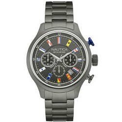 Men's Nautica Watch NCT Flag NAI20011G Chronograph