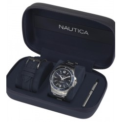 Buy Men's Nautica Watch Freeboard Box Set NAPFRB013