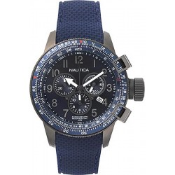 Buy Men's Nautica Watch Galley Box Set NAPGLY001 Chronograph