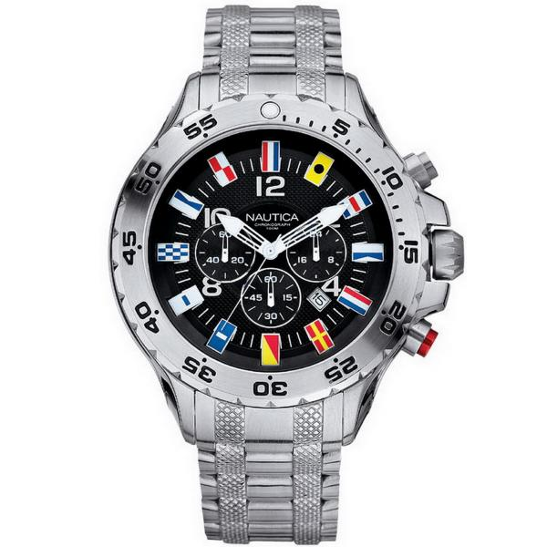 Buy Men's Nautica Watch NST Flag A29512G Chronograph