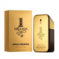 Paco Rabanne One Million Perfume for Men Eau de Toilette EDT 50 ml