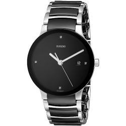 Buy Men's Rado Watch Centrix Diamonds L Quartz R30934712 Ceramic Diamonds