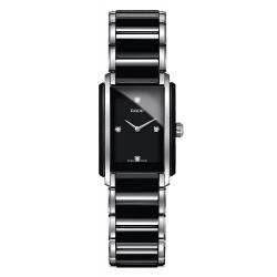 Buy Women's Rado Watch Integral Diamonds S Quartz R20613712 Ceramic Diamonds