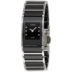 Buy Women's Rado Watch Integral Jubilé Quartz R20786752 Ceramic Diamonds