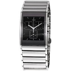 Men's Rado Watch Integral Quartz Chronograph R20849159 Ceramic