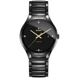 Men's Rado Watch True Automatic Diamonds R27056712 Ceramic