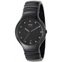 Men's Rado Watch True L Jubilé Quartz R27653762 Ceramic